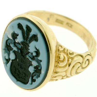 intaglio signet ring