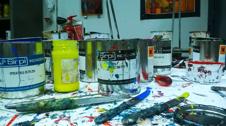 Inks used for printing glass.
