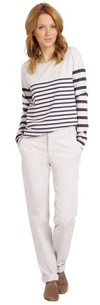 Sailor-stripe style, Woman clothing: Comptoir des Cotonniers