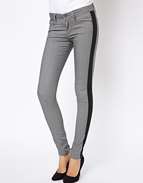 Pepe Jeans Skinny Jeans With Inserts
