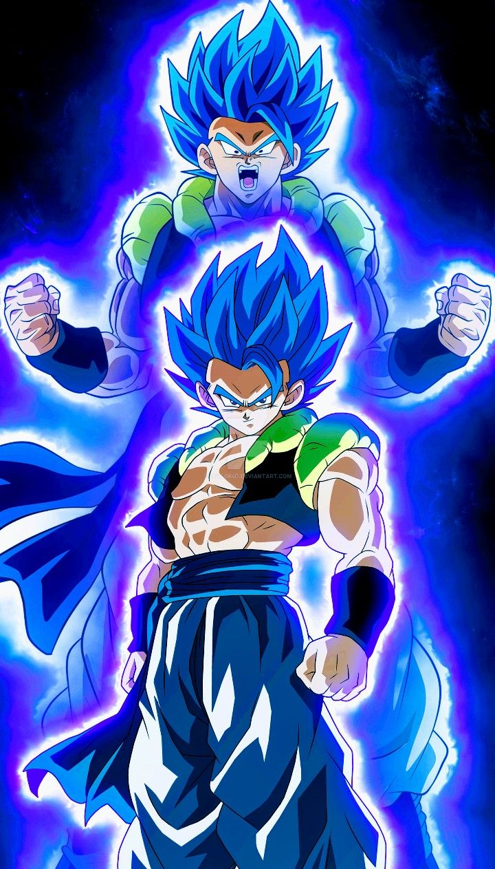 Gogeta Super Saiyan Blue Dragon Ball Super Anime Dragon Ball Super Dragon Ball Super Goku Dragon Ball Super Manga