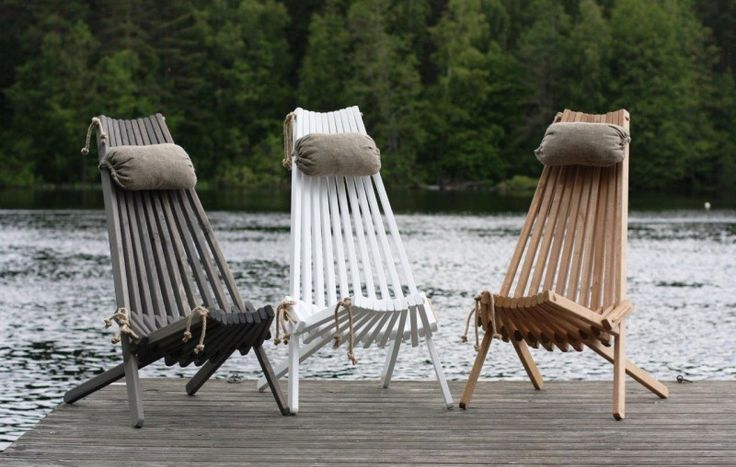 "EcoFurn - ""EcoChair"" Nordic Design 100% From Nature 