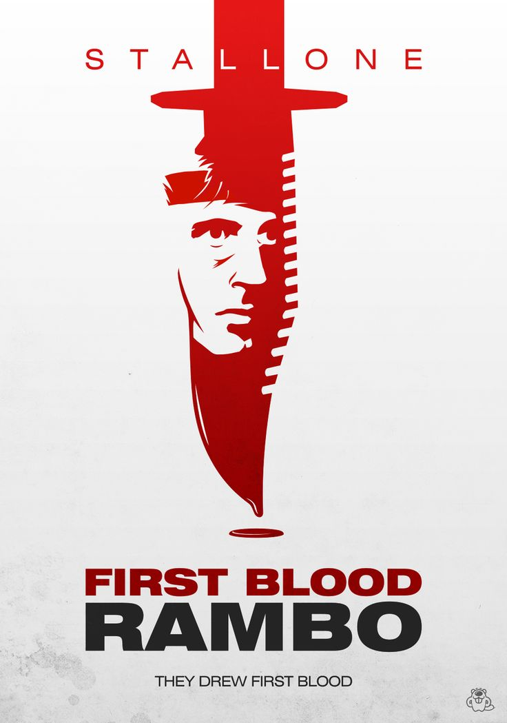 Rambo: First Blood alternative poster by mightybeaver.deviantart.com