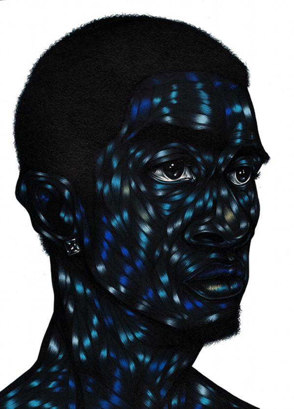 Toyin Odutola's Black Portraiture