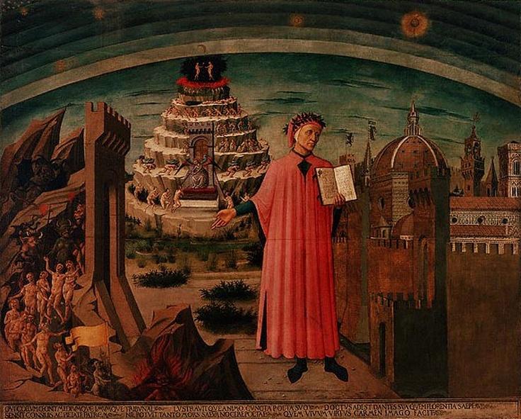 Resultado de imagem para céu inferno purgatorio cristo icone
