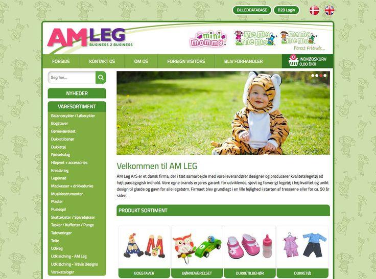 Så fik vi en ny Webshop i luften. Denne gang en btb Webshop med legetøj. #Webdesign #Webshop