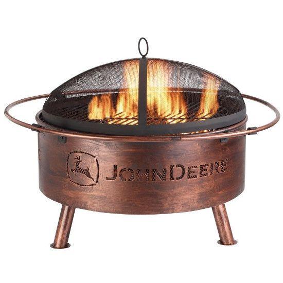 John Deere Fire Pit - www.greentoysandmore.com