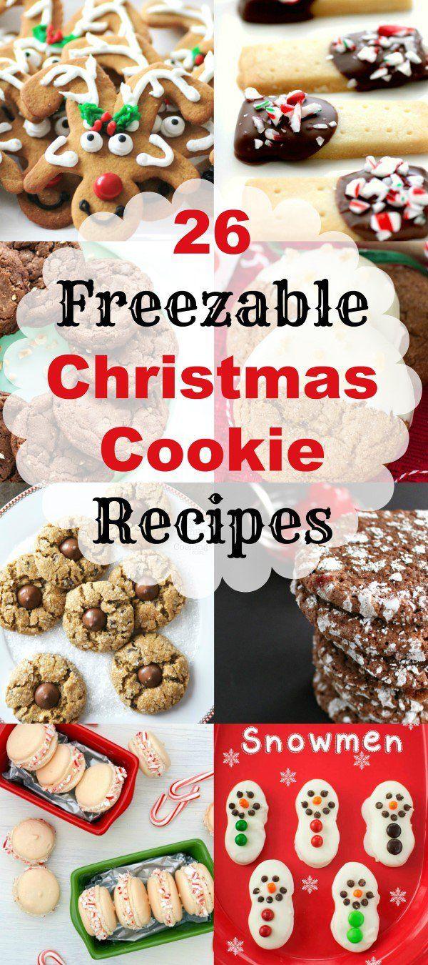 MWM 26 Freezable Christmas Cookie Recipes