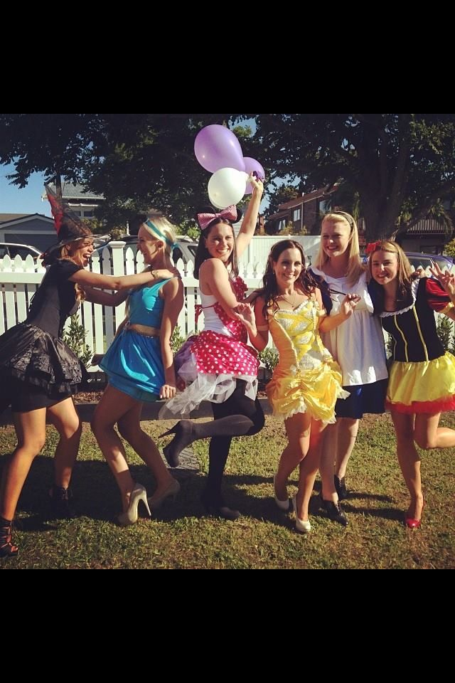 Disney themed hens party