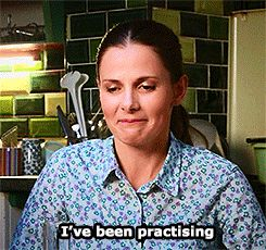 Louise Brealey (Molly Hooper) talking about the scene(s) where she gets to slap Sherlock.