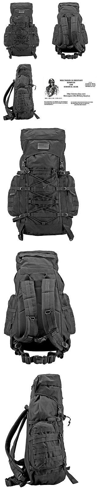Other Emergency Gear 181415: The Washington Molle Backpack Bug Out Bag Tactical Military Survival Gear-Black -> BUY IT NOW ONLY: $56.65 on eBay!