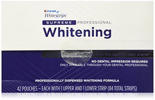 Crest Whitestrips Supreme Whitening 84 Strips Tooth Whitening Products New