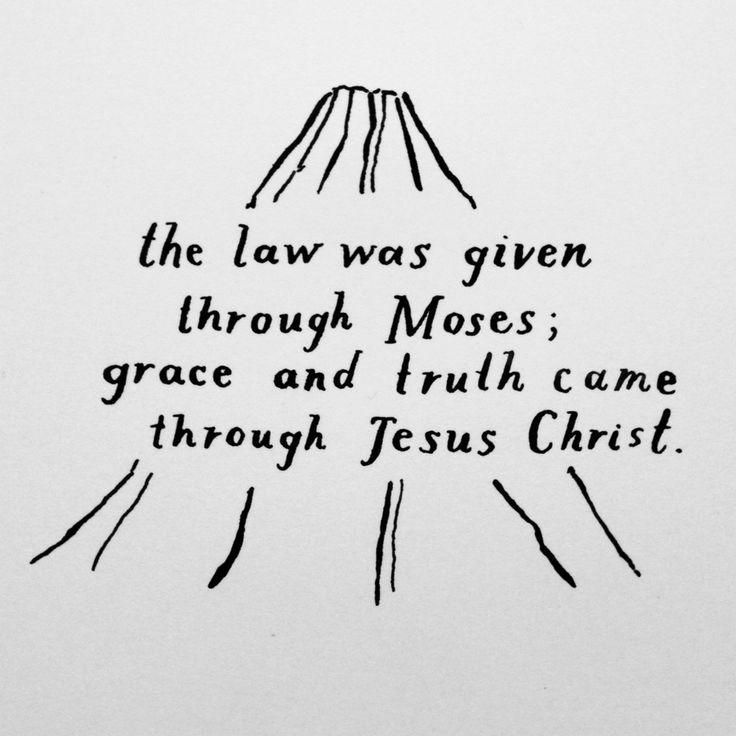 John 1:17 by Joy Kim of MADE BY SOHN