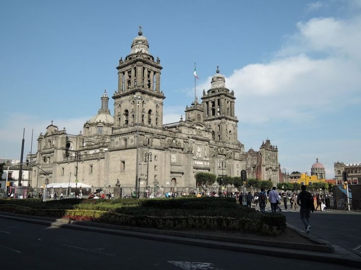 Katedra w mieście Meksyk. fot. Paweł Trefler