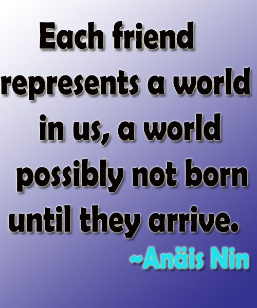 Famous Friendship Quote | Full Dose