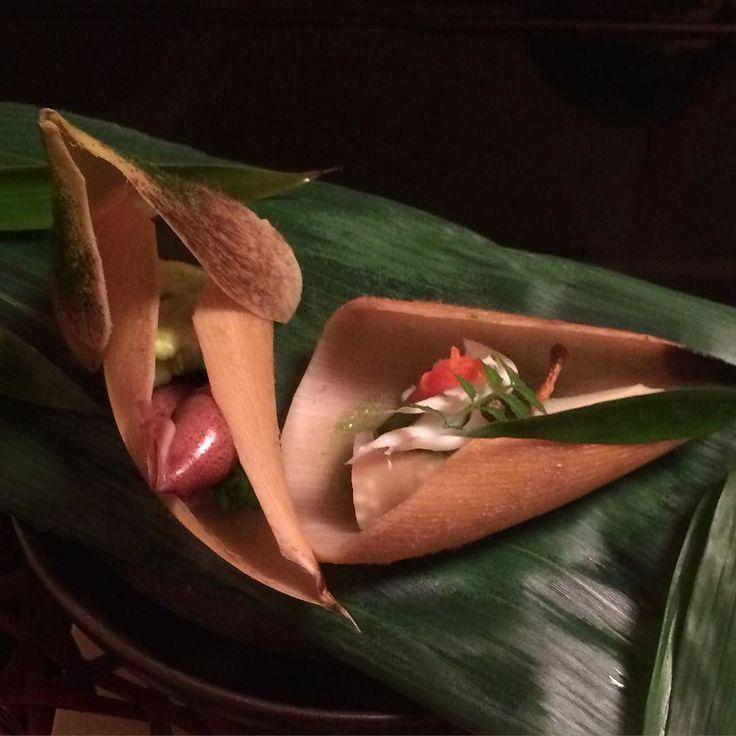 Pretty and detailed kaiseki-ryōri cuisine Koyto April 2014