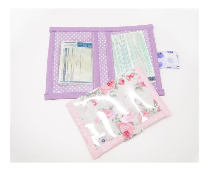 Porta documentos plastificado *