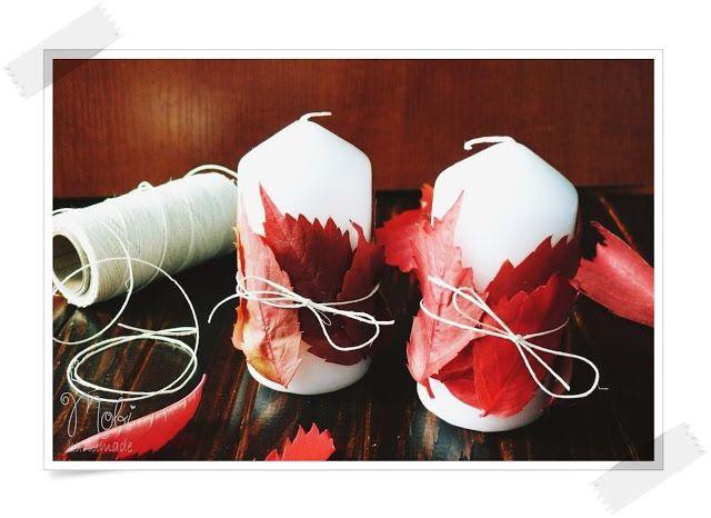 Mobi handmade: Jesienne dekoracje