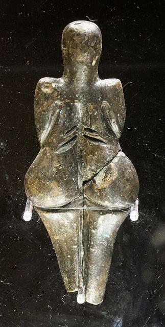 Woman from Dolni Vestonice. c.29,000- 25,000 BCE.
