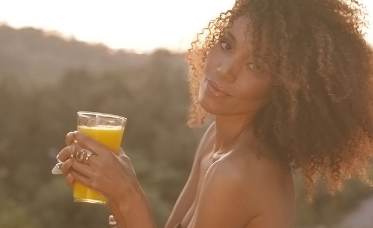 The Global Girl Beauty Juice Fast: Ndoema celebrates Day 40 of her third 92-day ...