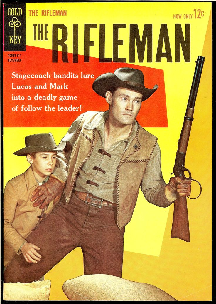 The Rifleman The rifleman, Book tv, Chuck connors