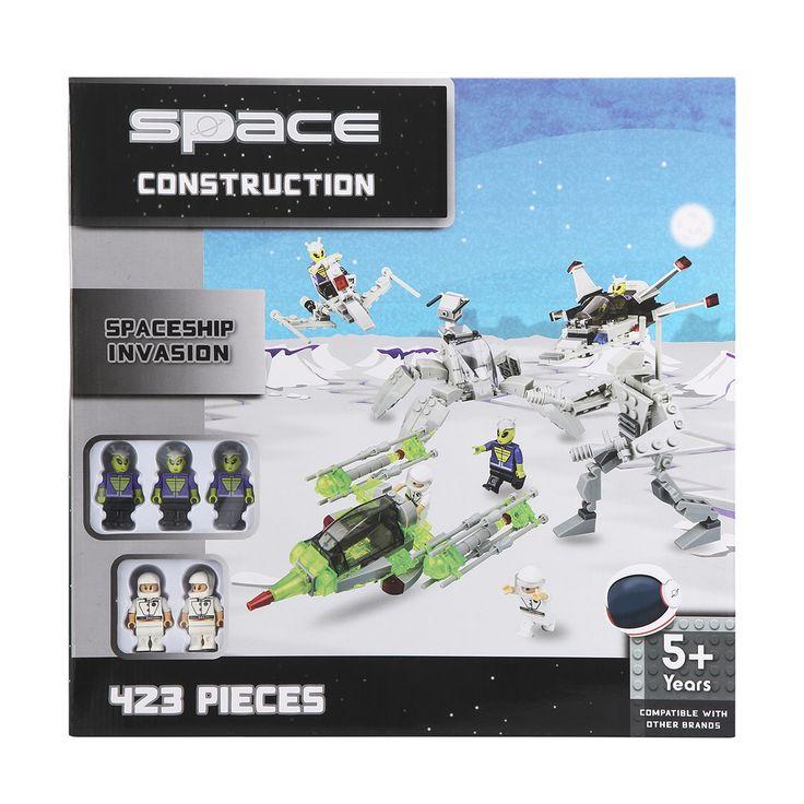 Space Construction Set - Spaceship Invasion | Kmart