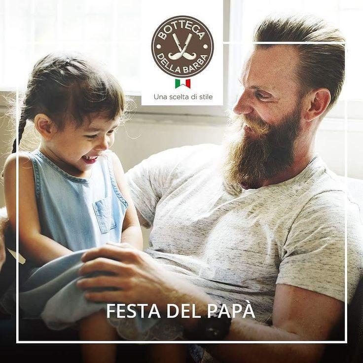 La prima barba di cui ci siamo innamorati. Auguri a tutti i papà da Bottega della Barba! #bottegadellabarba #bdb #fatherday #beard #dad #wishes #auguri #barberstyle #beardlovers #beardedmen #mensproducts #menstyles #love #instadaily #instalove #instalike