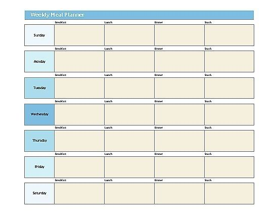 The 25+ best Weekly schedule template excel ideas on Pinterest ...