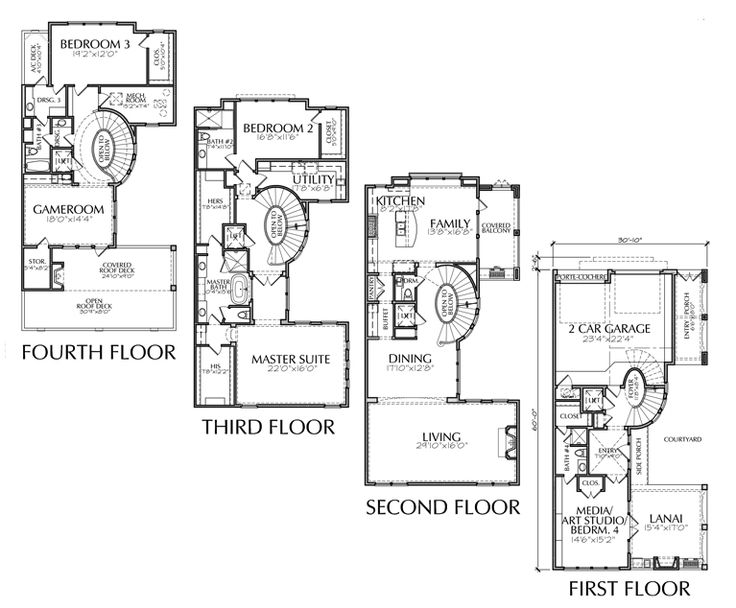 1000 Images About Floor Plans I Like On Pinterest House