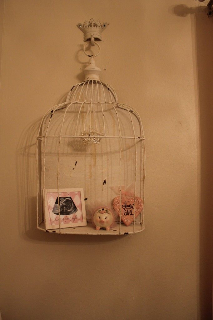 Love this… I wold put a pink stuffed animal in it. I saw these at A&B floral for like $30.