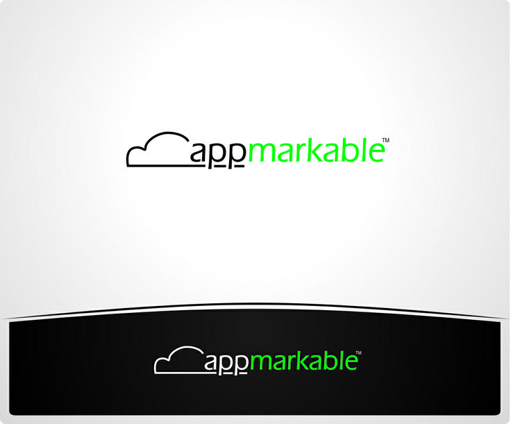appmarkable logo Design   By: High Six Designs