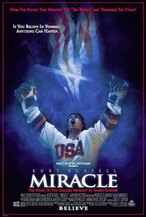 Miracle... Favorite hockey movie ever!!!