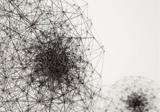 Incredible Geometric Pencil Lead Sculptures - My Modern Metropolis