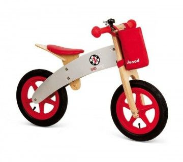 Draisienne Bikloon Racing #iletaitplusieursfois #baby #bebe #kid #enfant #jeuxvintage #toy #jeuxenbois