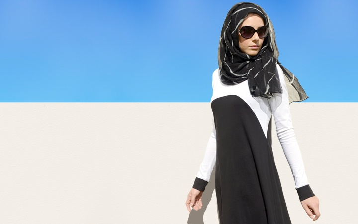 IPOMOEA ABAYA  Bold black and white patterns are one of the season's key trends. Ipomea is an easy way to work the look and perfect for power dressing at work. Wear with Aab's chiffon chic Hijabs to perfect the look!   https://www.aabcollection.com/shop/product/ipomoea-abaya/292