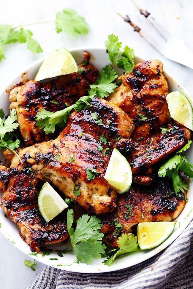 Grilled Honey Lime Cilantro Chicken | The Recipe Critic