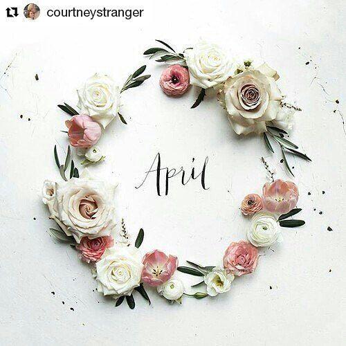 Bienvenido Abril.  #Repost @courtneystranger  HAPPY APRIL EVERYONE !! #april #hellospring #spring #aprilflowers #flowers #flowerlover #flowergram #flowerstagram