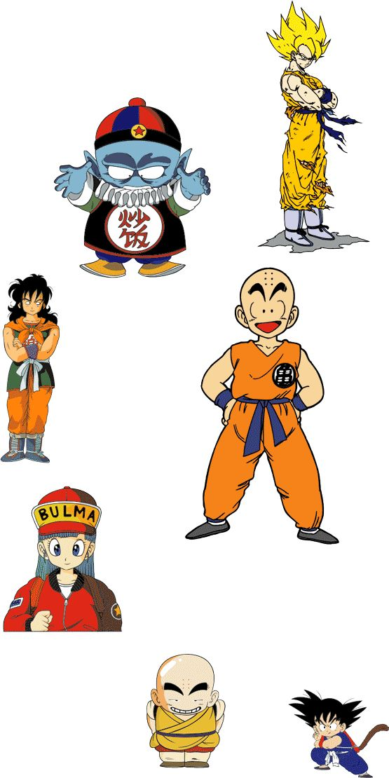 Cartoon Characters Dragon Ball Z : Best images about cartoon chartacters on pinterest