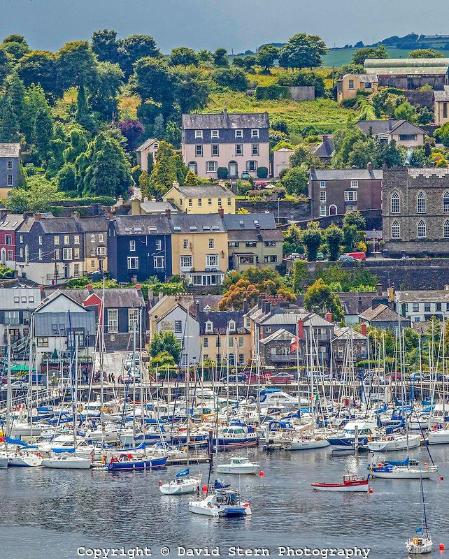 Kinsale, Ireland - Home of my great-great-grandfather can be seen in this picture. One of my favorite stops of our trip!