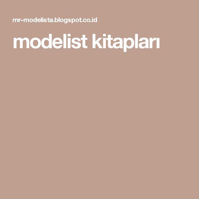 modelist kitapları