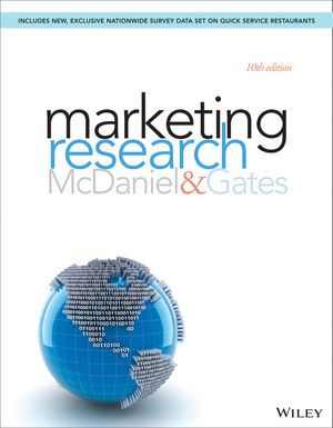 MARKETING RESEARCH de Carl McDaniel et Roger Gates. Contents : The role of marketing research in management decision making. The marketing research industry and research ethics. Problem definition, exploratory research and the research process. Secondary data and databases. Qualitative research. Traditional survey research. Online marketing research. Primary data collection: Observation. Primary data collection: experimentation and test markets. The concept of measurement. Usin... Cote : 4-6…