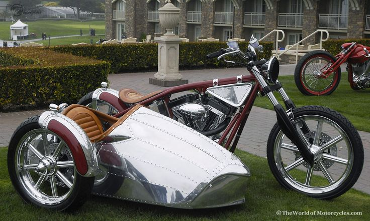 Custom bike designed for Airstream (yes like the camper) by Jesse James..  this is a bike I would love to own