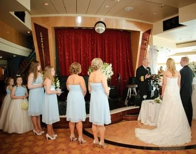Nautical wedding bells references photo gallery royal for Royal caribbean cruise wedding
