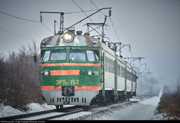 RailPictures.Net Photo: Russian Railways ER9pk at Ryazan Region, Russia by Alexander Anichkin