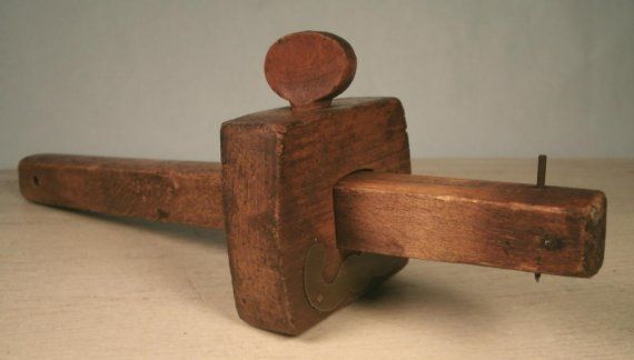 Antique Wood Carpenters Scribe Tool Woodworking | Tools, Antique wood and Antiques