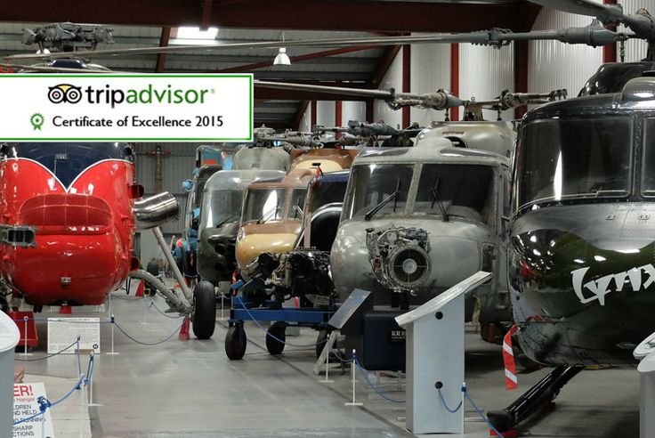 £8 instead of £22.60 for a family ticket, including a pot of tea, to The Helicopter Museum, Weston-super-Mare - save 65%
