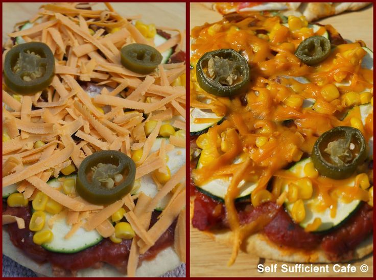 Self Sufficient Cafe: Pizza Party Dinner-Mexican Pizza
