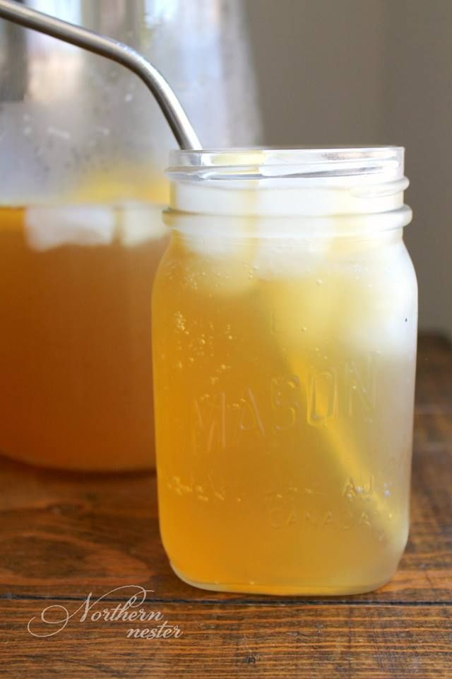 """Shrinking Southern Sweet Tea Shine - (FP)  """"This Shinker/Moonshine combo tastes just like Southern Sweet Tea! A Trim Healthy Mama Fuel Pull, you can refresh yourself with it this Summer, all day long."""" - Jacinda  www.TrimHealthyMama.com"""