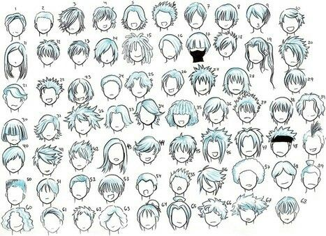 Hairstyles; How to Draw Manga/Anime - Best 25+ Anime Boy Hairstyles Ideas Only On Pinterest Anime