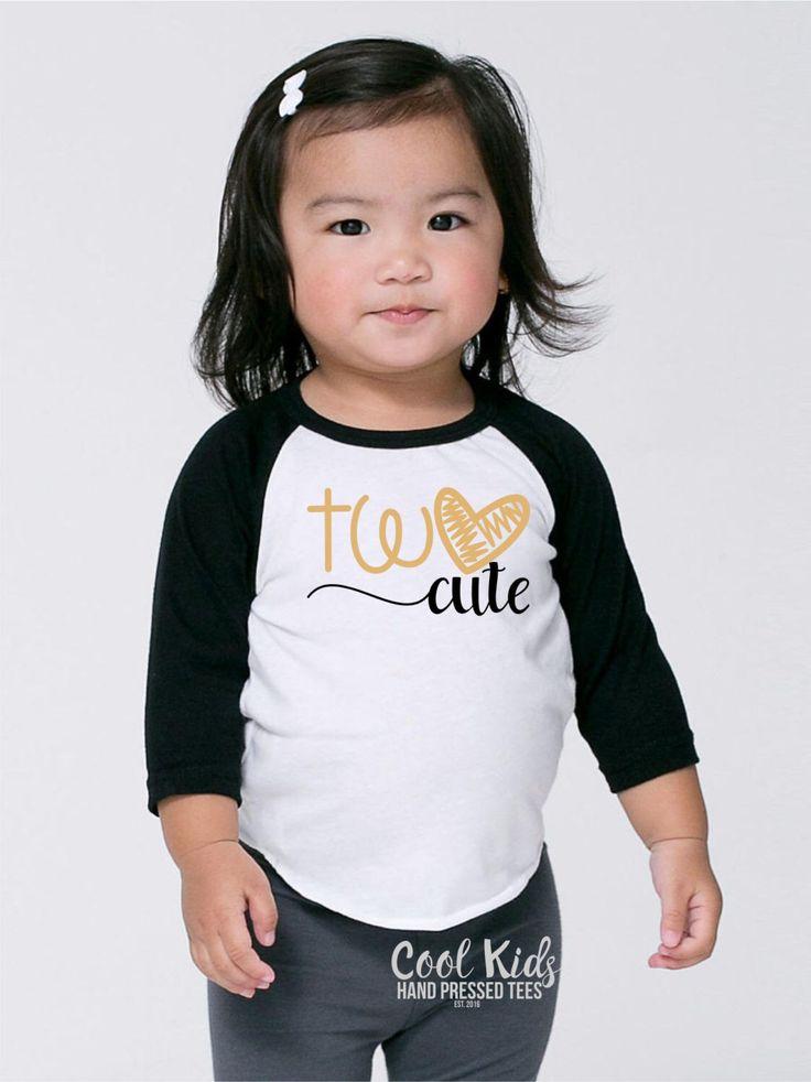 Two Cute Birthday Shirt, 2 Cute Birthday Outfit, Girls Second Birthday Shirt, Girl Birthday Tee, 2nd Birthday, Toddler Girl Birthday Top by CoolKidsTees on Etsy https://www.etsy.com/listing/488408591/two-cute-birthday-shirt-2-cute-birthday